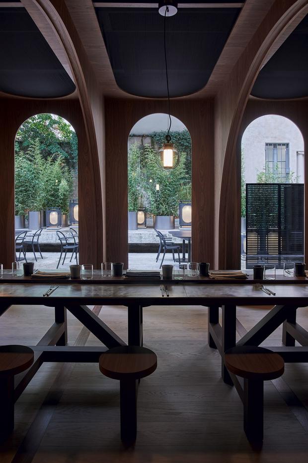 Pop-up ресторан в Милане от Neri & Hu (фото 7)