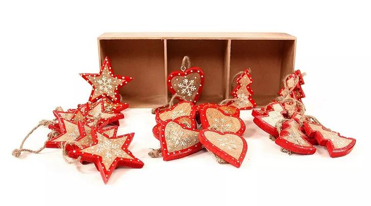 ELLE Decoration шопинг: елочные украшения (фото 5)
