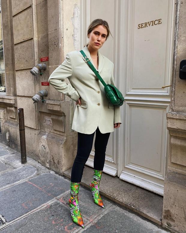 Свежий тренд весны: пиджаки в мятном оттенке (фото 1)