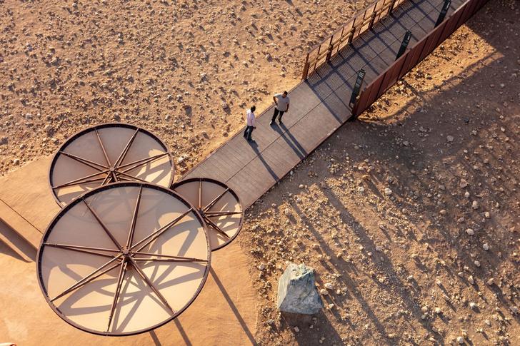 «Марсианский» парк в ОАЭ по проекту Hopkins Architects (фото 4)