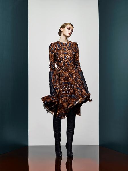 Хозяйка Медной горы: новая pre-fall коллекция A LA RUSSE Anastasia Romantsova   галерея [2] фото [6]