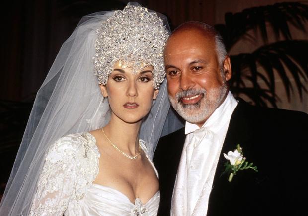 Свадьба Селин Дион и Рене Анжелила фото