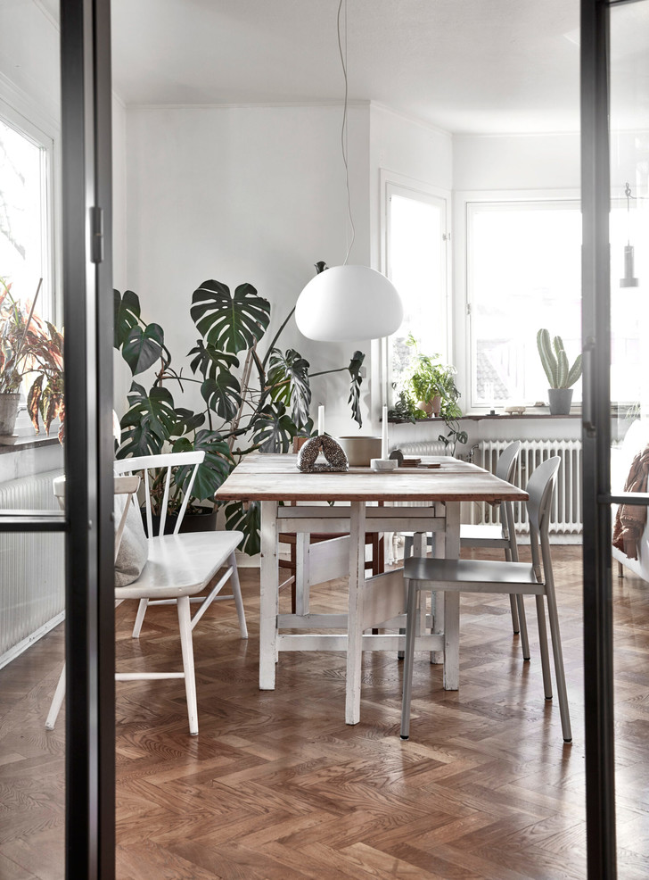 Светлая скандинавская квартира в Гетеборге (фото 0)