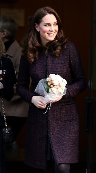 Новый выход беременной Кейт Миддлтон (фото 1)