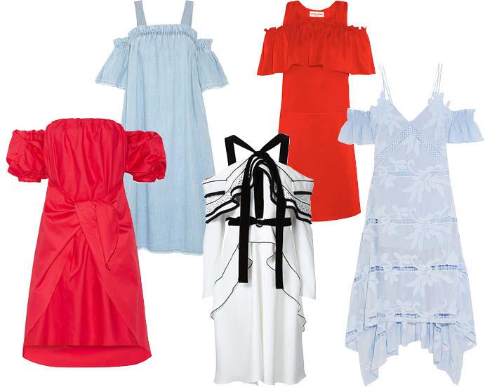 45b5f1737aa Модные платья весна-лето 2016