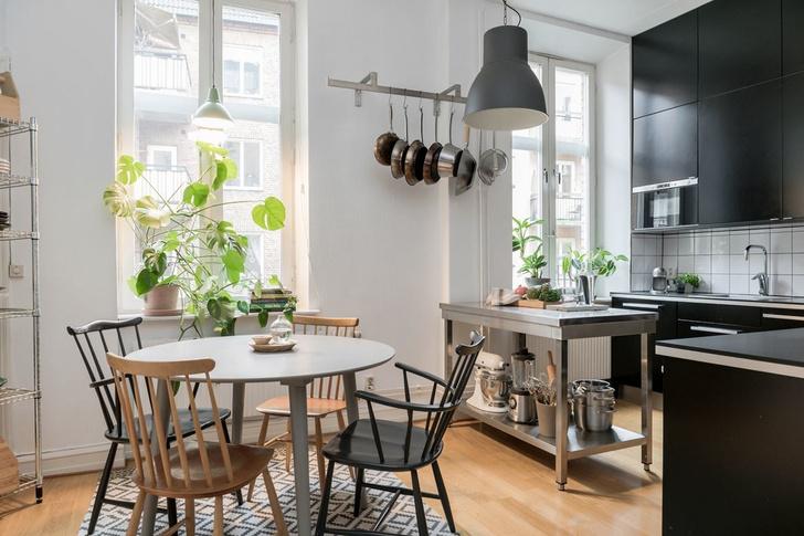 Образцовая скандинавская квартира 140 м² (фото 17)
