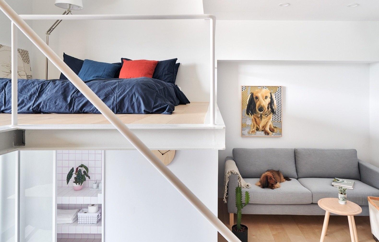Спальня в стиле лофт: 10 кроватей на чердаке (галерея 0, фото 1)