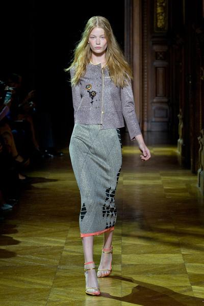 На парижской Неделе моды прошел показ Sonia Rykiel