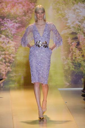 Показ Zuhair Murad коллекции сезона Весна-лето 2014 года haute couture - www.elle.ru - Подиум - фото 575374