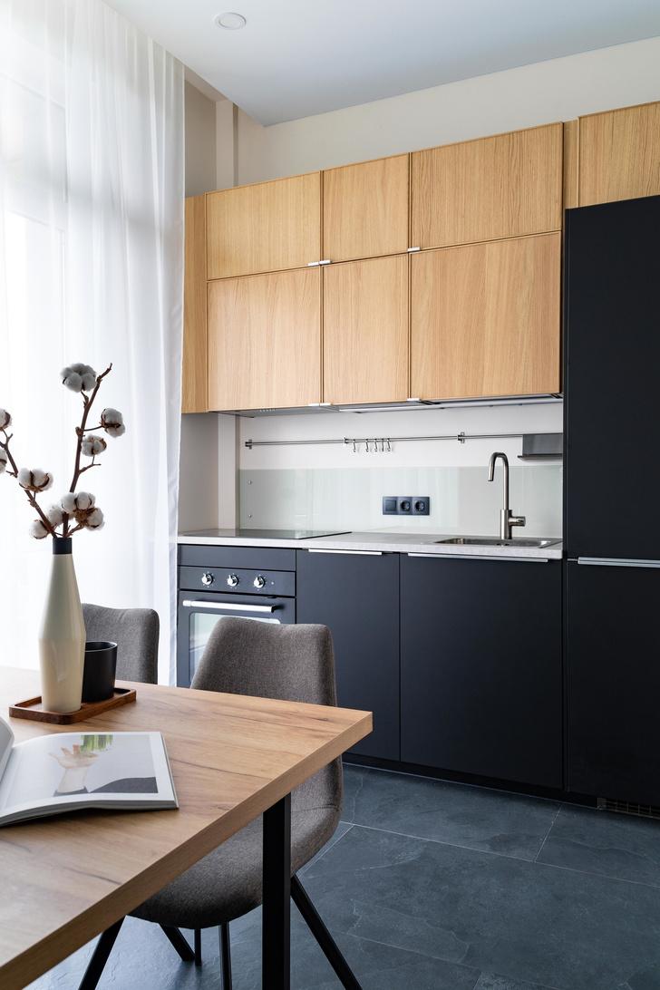 Квартира 38 м² для молодого заказчика: проект студии «1+1» (фото 12)
