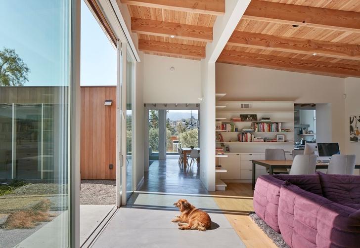 Просторное ранчо на севере Калифорнии по проекту Malcolm Davis Architecture (фото 6)