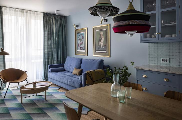 В стране чудес: квартира в центре Киева 65 м² (фото 0)