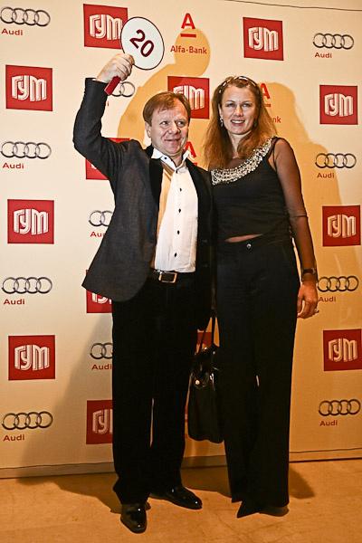 Игорь Бутман с супругой
