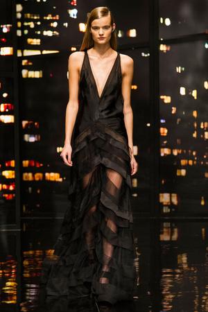 Показ Donna Karan New York коллекции сезона Осень-зима 2015-2016 года prêt-à-porter - www.elle.ru - Подиум - фото 593913