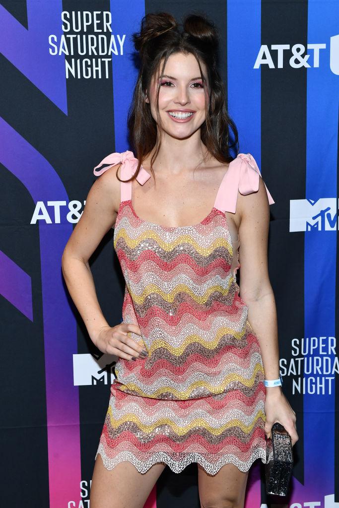 Оливия Калпо, Адриана Лима, Жозефин Скривер и другие модели на AT&T TV Super Saturday Night (фото 4)