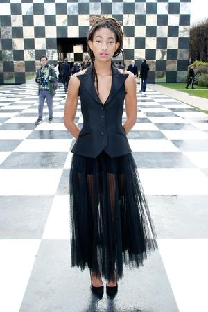 Гости на показе Dior Haute Couture в Музее Родена (фото 13)