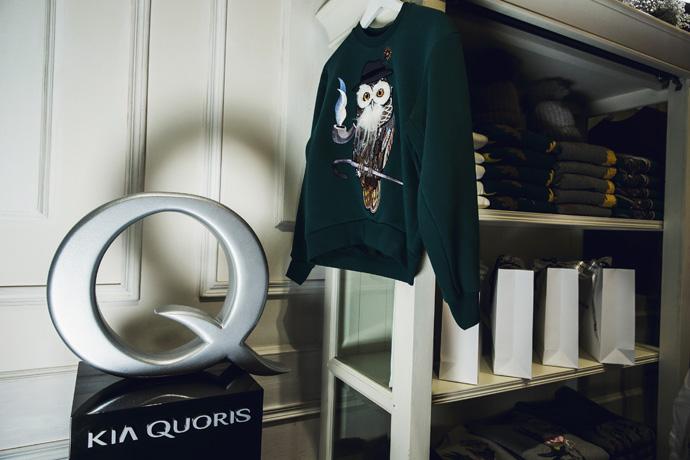 KIA Quoris Celebrity Shopping