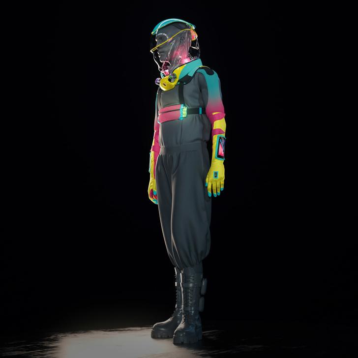 проект защитного костюма для вечеринок (фото 2)