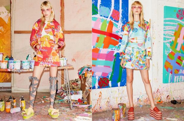 Fashion & Art: 6 коллекций, созданных с художниками (фото 10)