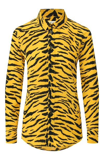 6 рубашек с «хищным» принтом как у Эльзы Хоск (галерея 2, фото 0)