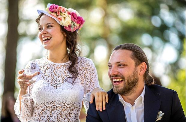 Наталия Медведева и Александр Коптель