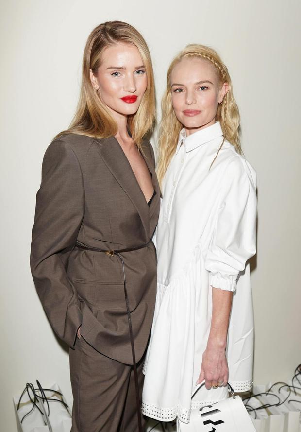 Вот это дуэт: Роузи Хантингтон-Уайтли и Кейт Босуорт на открытии бутика в Лос-Анджелесе (фото 1)