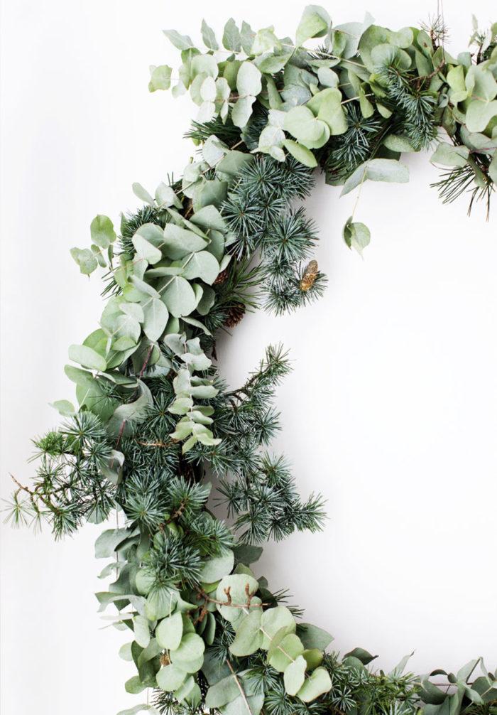 Чем заменить новгоднюю елку? Зеленый декор своими руками (фото 5)