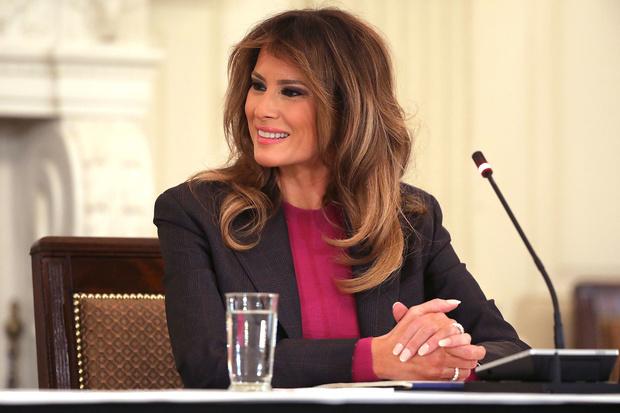 Мелания Трамп на официальном мероприятии в Белом доме (фото 3)
