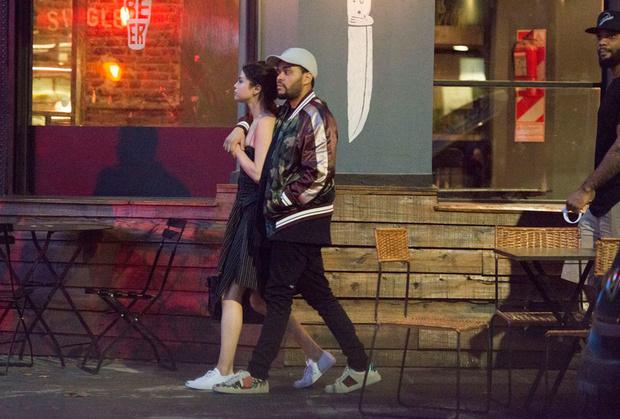 The Weeknd и Селена Гомес на отдыхе фото