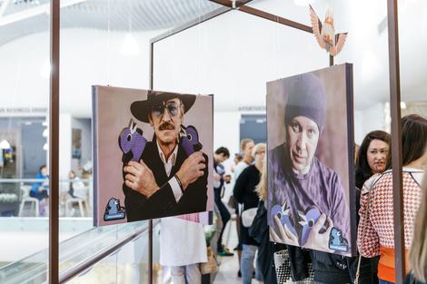 Открытие фотовыставки «Люди и Птицы» в Смоленском пассаже | галерея [1] фото [2]