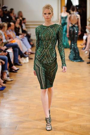 Показ Zuhair Murad коллекции сезона Осень-зима 2013-2014 года haute couture - www.elle.ru - Подиум - фото 556598