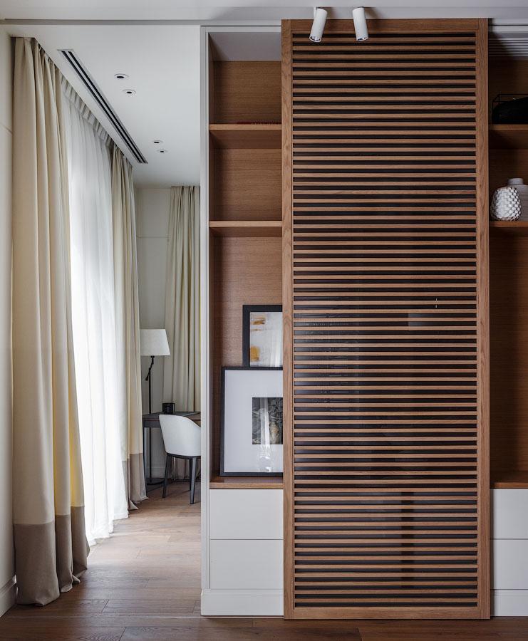 "Квартира 110 м²: проект архитектурной мастерской ""Акант"" (галерея 6, фото 1)"