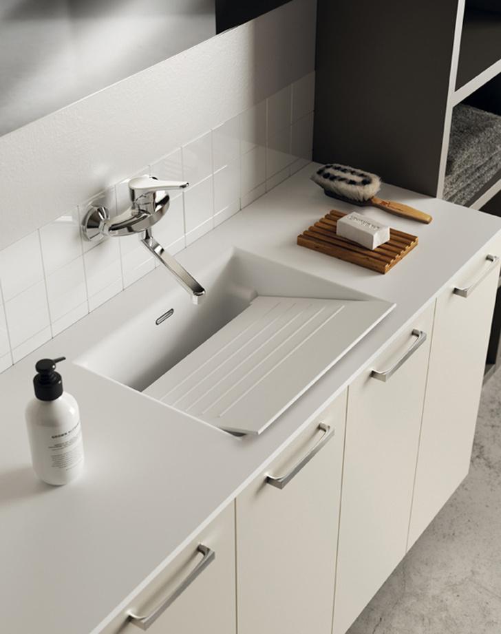 Новинки выставки CERSAIE 2017: стильная керамика, сантехника и мебель для ванной фото [15]