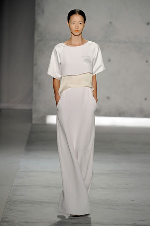 Показы мод Sally LaPointe Весна-лето 2013 | Подиум на ELLE - Подиум - фото 1203