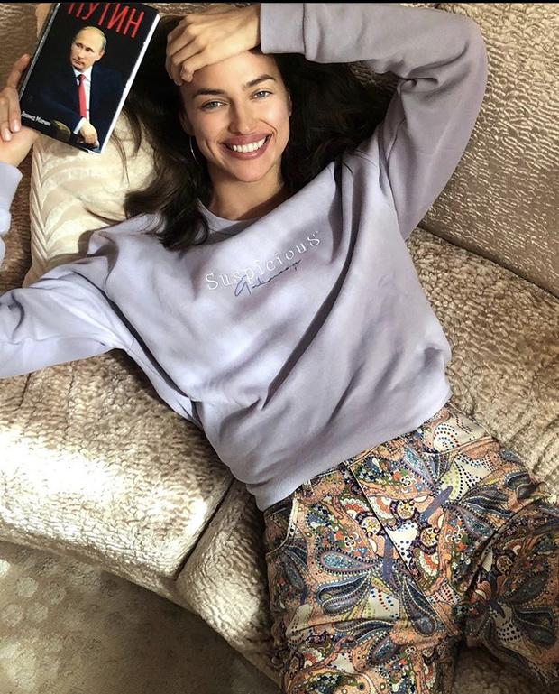 Stay home: что носит Ирина Шейк на карантине? (фото 1)