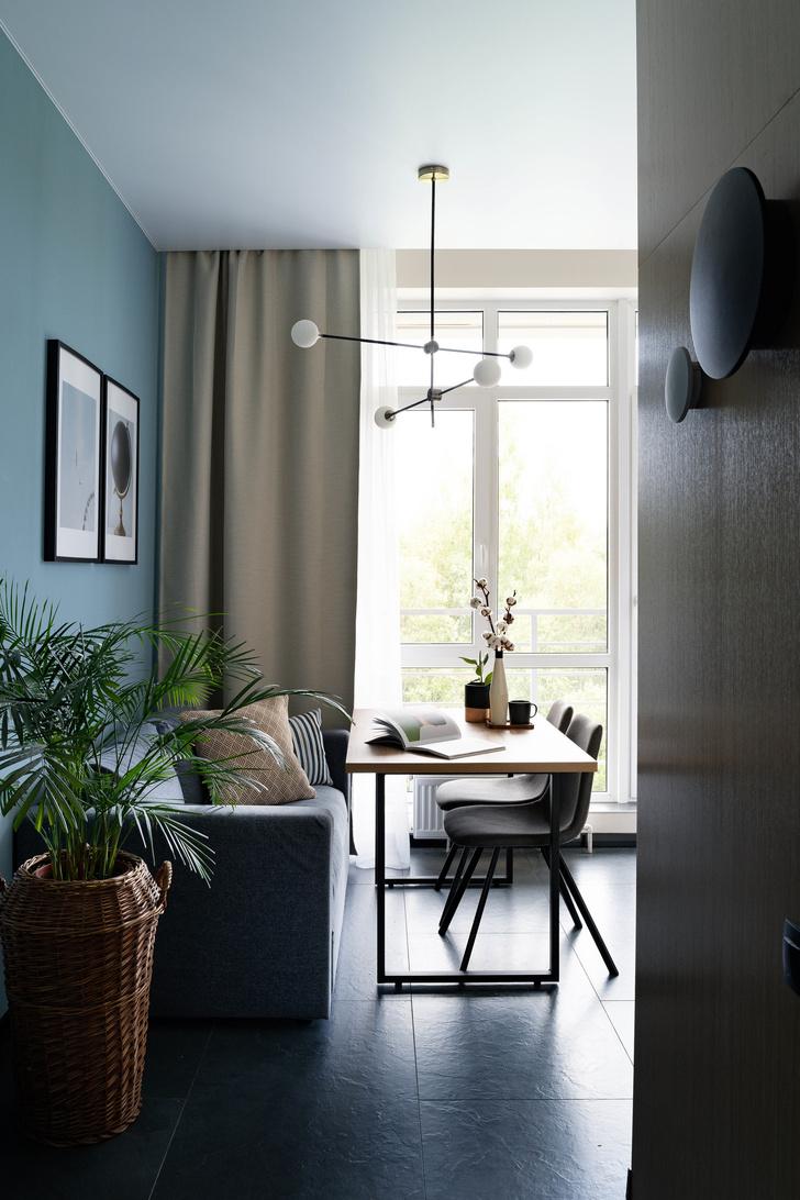Квартира 38 м² для молодого заказчика: проект студии «1+1» (фото 14)