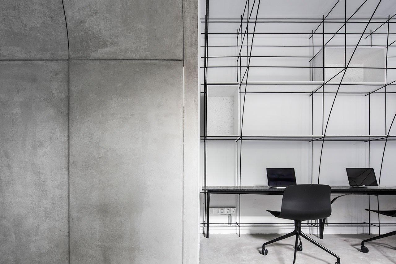 Монохромный офис в Шанхае (галерея 6, фото 5)