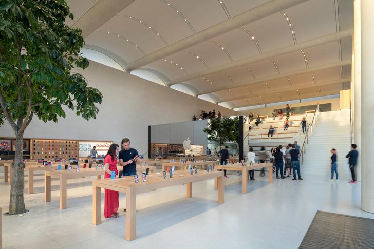 Новый бутик Apple в Майами по проекту Foster+Partners (фото 8)