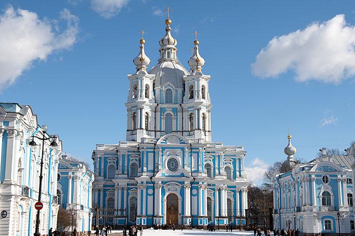 Смольный собор Воскресения Христова, Санкт-Петербург