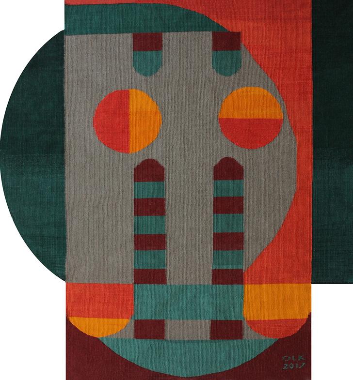 Украинские килимы и пикачу: художник Оксана Левченя (фото 4)