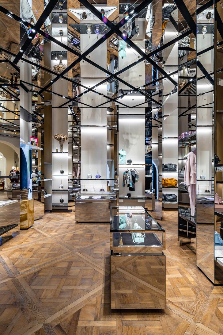 Флагманский бутик Balmain в Париже (фото 5)