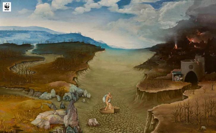 Арт-проект музея Прадо и фонда WWF (фото 10)