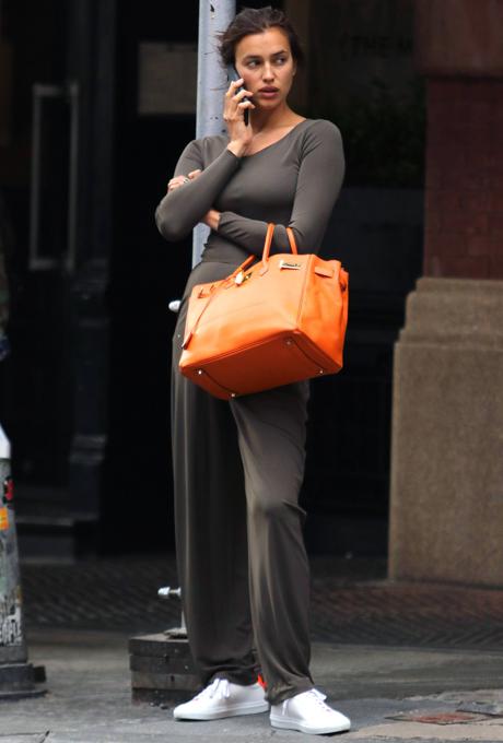 Working Mama: Ирина Шейк в Нью-Йорке