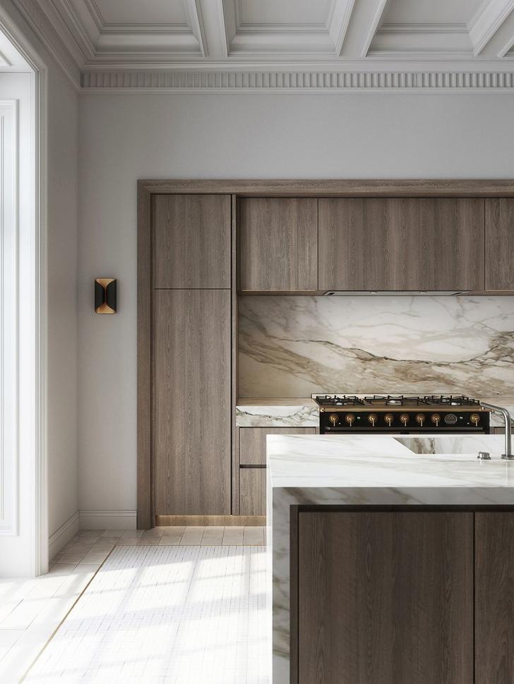 Современная классика: квартира 182 м² в Милане (фото 10)
