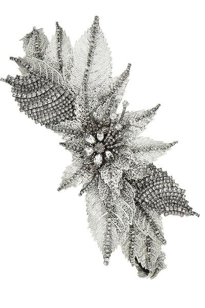 Украшение на голову, серебро, кристаллы Swarovski, Erickson Beamon, 58 511 руб.