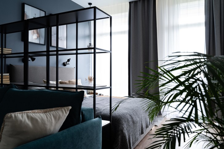 Квартира 38 м² для молодого заказчика: проект студии «1+1» (фото 0)
