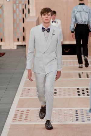 Показ Louis Vuitton коллекции сезона Весна-лето 2014 года Men prêt-à-porter - www.elle.ru - Подиум - фото 556981