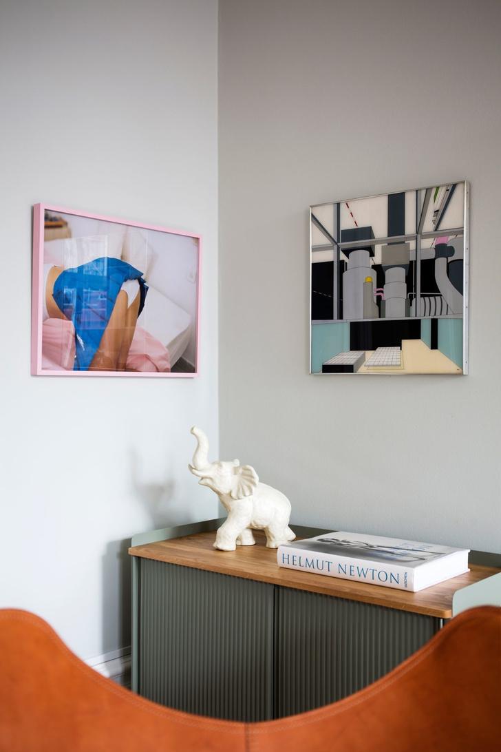 Эклектичный интерьер квартиры в Стокгольме (фото 5)