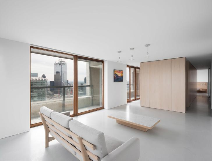 Минималистские апартаменты по дизайну Джона Поусона (фото 0)