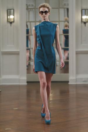 Показы мод Victoria Beckham Осень-зима 2010-2011 | Подиум на ELLE - Подиум - фото 2877